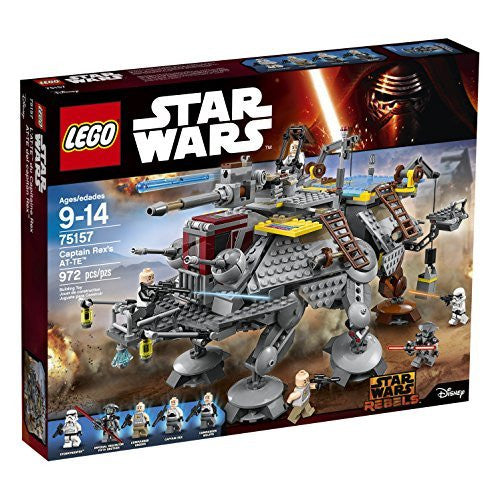 LEGO Star Wars Captain Rex's AT-TE Building Kit (972 Piece)