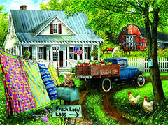 Countryside Living 1000 Piece Jigsaw Puzzle