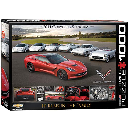 2014 Corvette Stingray: It Runs in the Family Jigsaw Puzzle (1000-Piece)