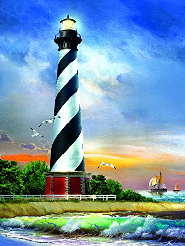 Cape Hatteras Lighthouse 500 pc Jigsaw Puzzle by SunsOut