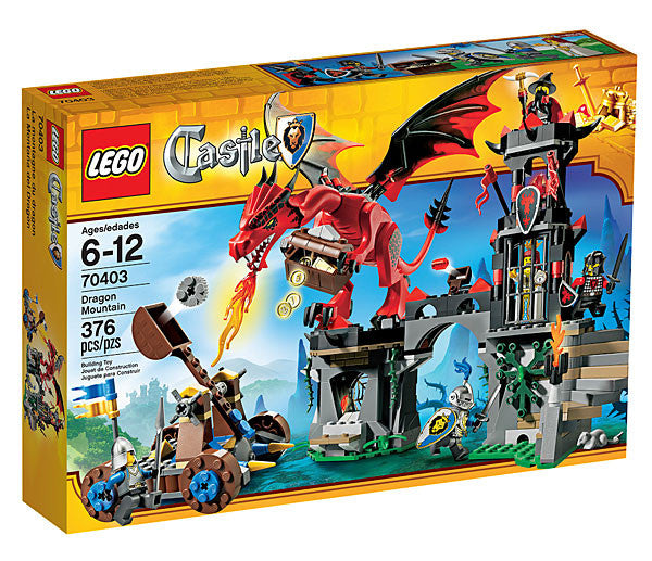 Lego Castle Dragon Mountain - 70403