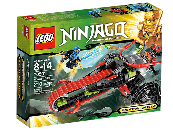 LEGO Ninjago Warrior Bike 70501 - 210 Pieces - Ages 8 and Up