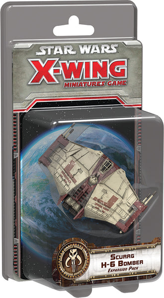 Star Wars X-Wing Miniatures Game: Scurrg H-6 Bomber Expansion SWX65