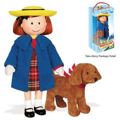 MADELINE POSEABLE DOLL WITH GENEVIEVE SOFT TOY IN BOX