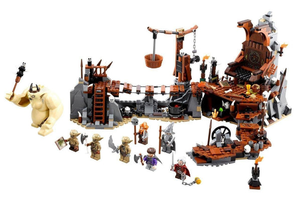 LEGO The Hobbit The Goblin King Battle 79010 - 841 Pieces - Ages 9 and Up