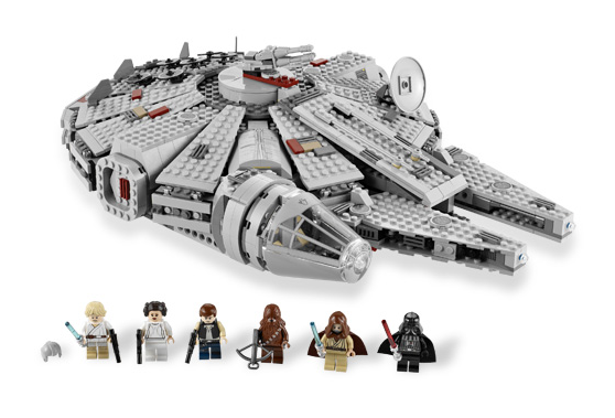 LEGO Star Wars Millennium Falcon 7965 - 1254 Pieces - Ages 9 and Up