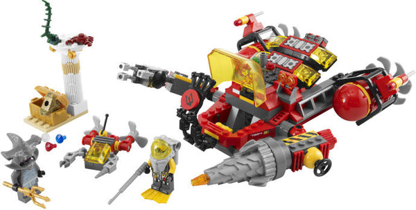LEGO Atlantis Deep Sea Raider 7984