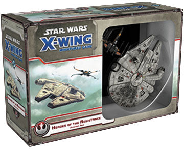 Star Wars X-Wing Miniatures - TFA - Heroes of the Resistance Expansion