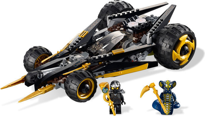 Lego Ninjago Coles Tread Assault 9444 Toy Toy Fuzz