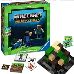 Minecraft: Builders & Biomes Strategy Board Game
