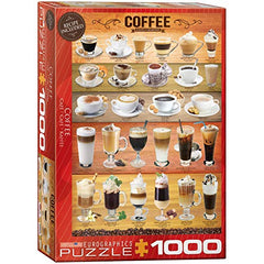 EuroGraphics Coffee Puzzle (1000-Piece), Model:6000-0589