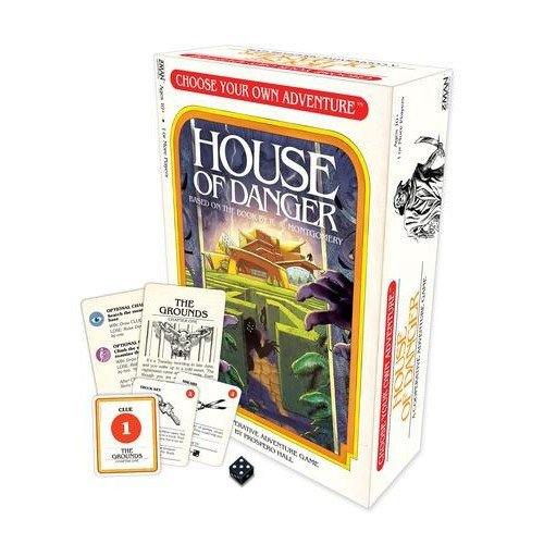 Choose Your Own Adventure: House of Danger Game
