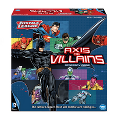 DC Justice League Axis of Villians Strategy Game, Ages 8 and Up