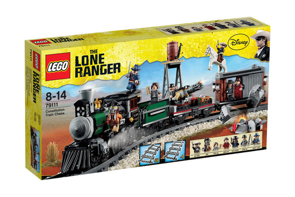 LEGO The Lone Ranger Constitution Train Chase (79111)