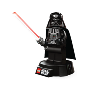 LEGO Star Wars Darth Vader LED Desk Lamp LGL-LP2B, Ages 7 and Up