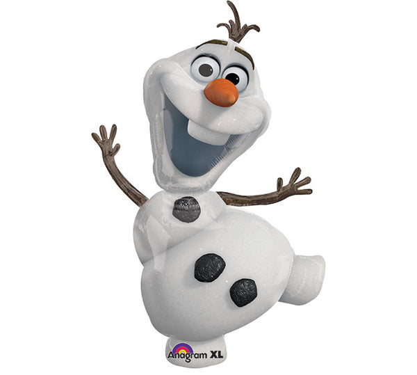 "Disney Frozen Olaf the Snowman 41"" Supershape XL Xtralife Foil Balloon"