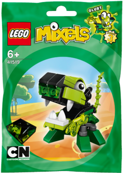 LEGO Mixels 41519 GLURT Building Kit [Toy]