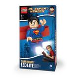 LEGO DC Super Heroes Superman LED Head Lamp, LGL-HE7, Ages 5 and Up