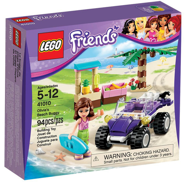 LEGO Friends Olivia's Beach Buggy 41010 - 94 Pieces - Ages 5 and Up