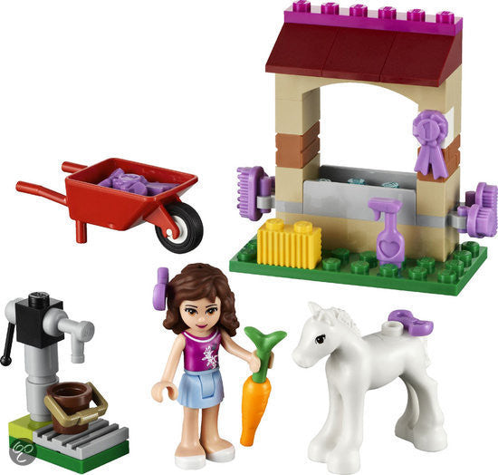 LEGO Friends Olivia Newborn Foal 41003 - 70 pieces - Ages 5 and Up