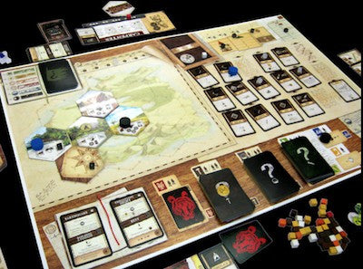 Robinson Crusoe Adventures on The Cursed Card Game