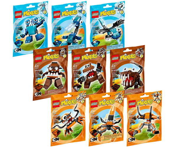 LEGO Mixels Series 2 Complete Set of 9 Characters