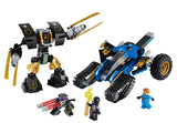 LEGO Ninjago 70723 Thunder Raider Toy - 334 Pieces - Ages 8 and Up