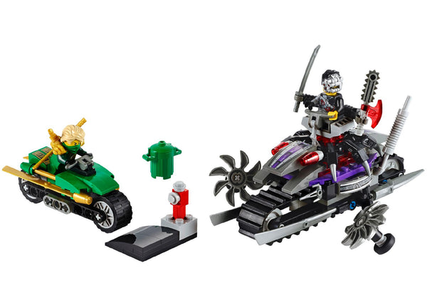 LEGO Ninjago 70722 OverBorg Attack - 207 Pieces - Ages 8 and Up