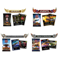 Star Realms Crisis Expansion 4-Pack Bundle