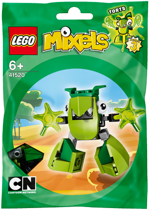 LEGO Mixels 41520 TORTS Building Kit [Toy]