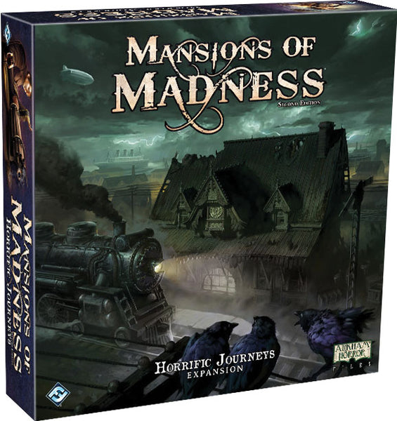Mansions of Madness 2nd Edition: Horrific Journeys Expansion
