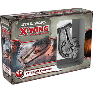 Star Wars X-Wing Miniatures Game: YT-2400 Freighter Expansion SWX23