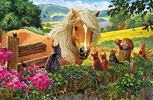 SUNSOUT INC New Neighbors 100 pc Jigsaw Puzzle