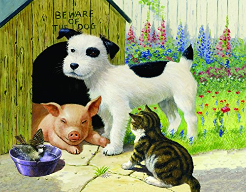 Unlikely Friends 35 Piece Jigsaw Puzzle by SunsOut