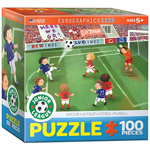 EuroGraphics Soccer Junior League 60 Piece Puzzle (Small Box)