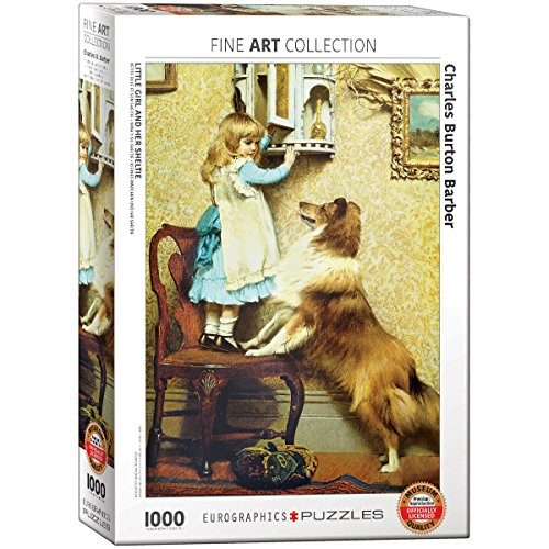 EuroGraphics Little Girl & Her Sheltie 1000Piece Puzzle
