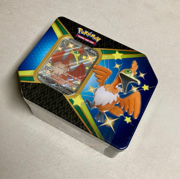 Pokemon Shining Fates Tin - Cramorant V