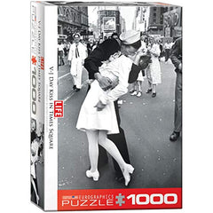 EuroGraphics Kissing on VJ Day Life Magazine (1000 Piece) Puzzle