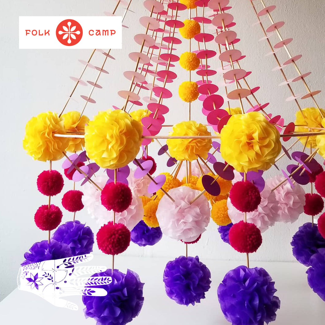 Pajaki Polish Paper Chandeliers | November 16, 2019