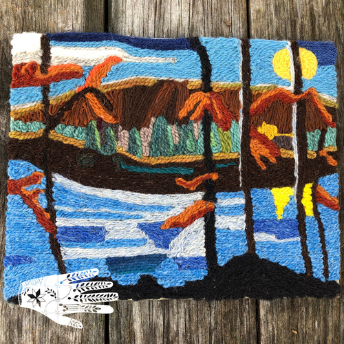 Landscape Yarn Painting | Nov 23, 2019