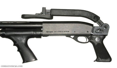 Choate Top Folding Stock for Remington - Folded View