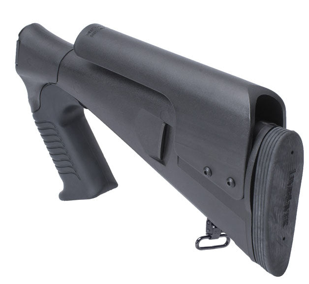 Mesa Tactical URBINO® Pistol Grip Stock for Remington 870 / 1100 / 11-87 Large Rear View