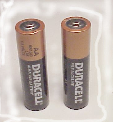 AA Size Alkaline Replacement Batteries (2 Pack)