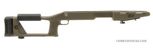 Choate Ultimate Sniper Stock for Left Hand Remington 700 Long Action Rifles