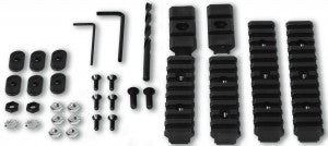 The Tapco ultimate rail kit gives you the ultimate in versatility