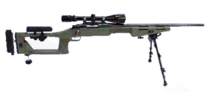 Choate Custom Sniper Package for Remington Short Action ADL/BDL