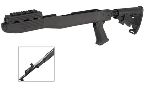 SKS T6 Adjustable Stock with Blade Bayonet Cut
