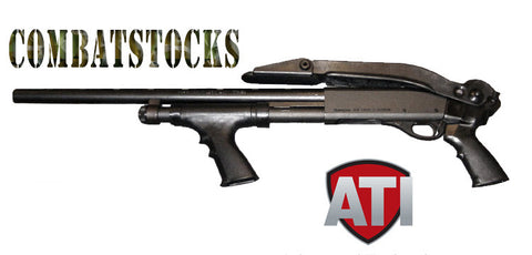 ATI Universal Top Folding Shotgun Stock for Remington, Winchester, Mossberg, Maverick