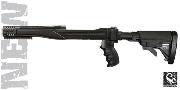 Ruger 10/22 © TactLite Six Position Adjustable Side Folding Stock w/ Cheekrest & Scorpion Recoil System