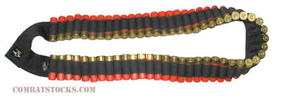Shotgun Bandoleer - holds 56 shells